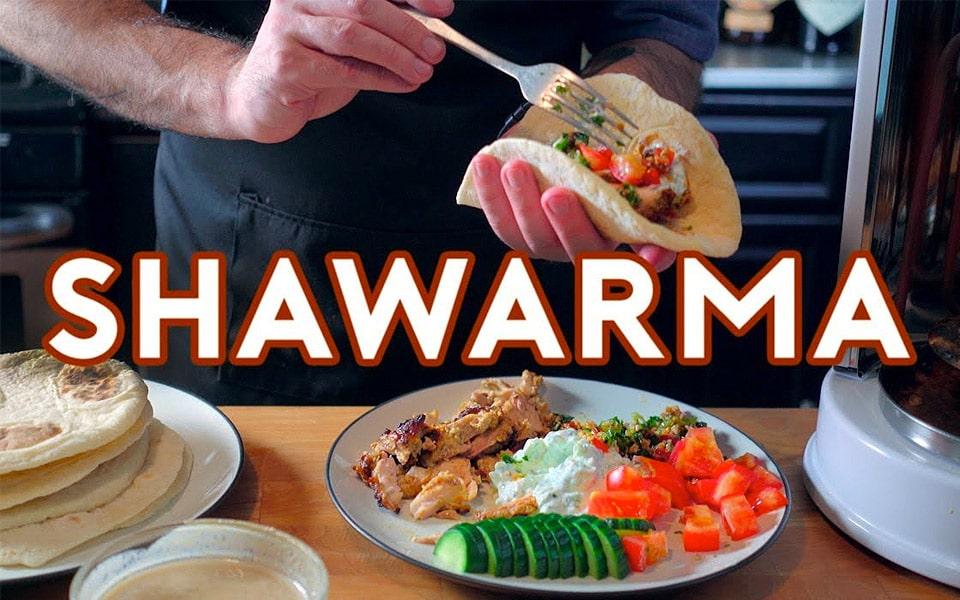"""Sådan laver du shawarmaen fra """"The Avengers"""""""