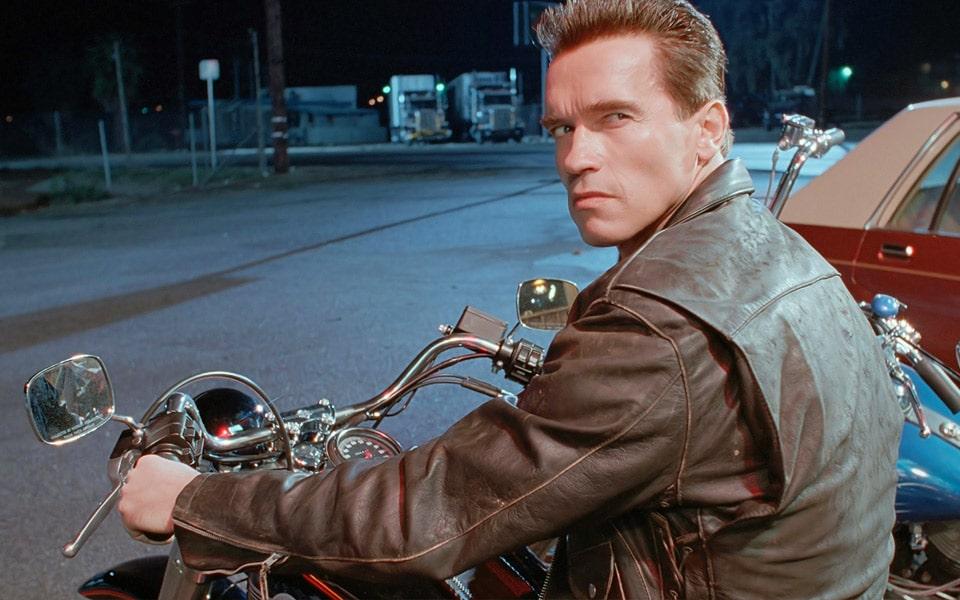 Arnold Schwarzeneggers Harley-Davidson fra Terminator 2 kan nu blive din