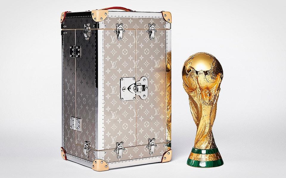 Louis Vuitton har lavet kassen til FIFA's World Cup Trofæ