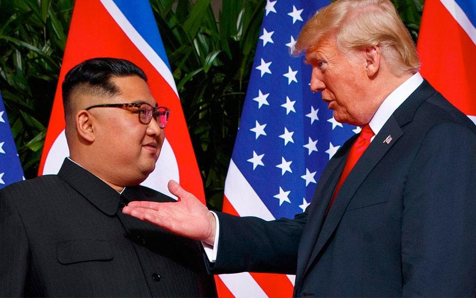 A Bad Lip Readings version af Donald Trumps møde med Kim Jong-un er virkelig sjovt