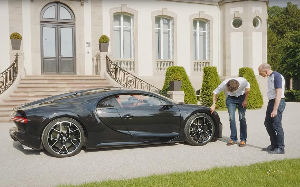 Andy Wallace forklarer, hvorfor Bugatti Chiron er en vanvittig bil