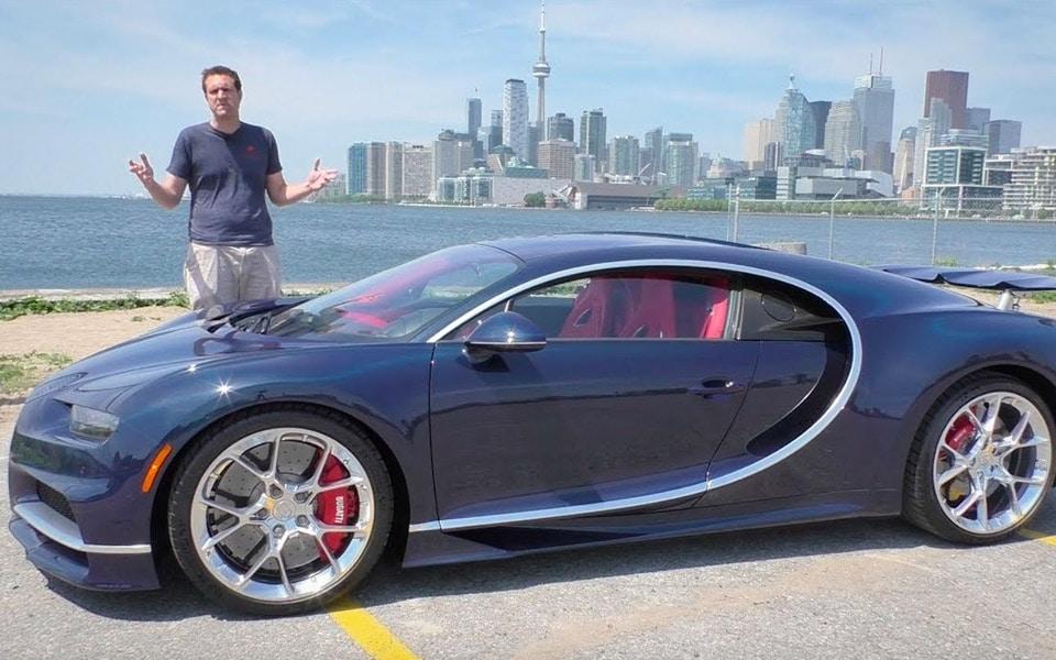 Doug DeMuro afslører, hvorfor en Bugatti Chiron er 21 mio. kr. værd