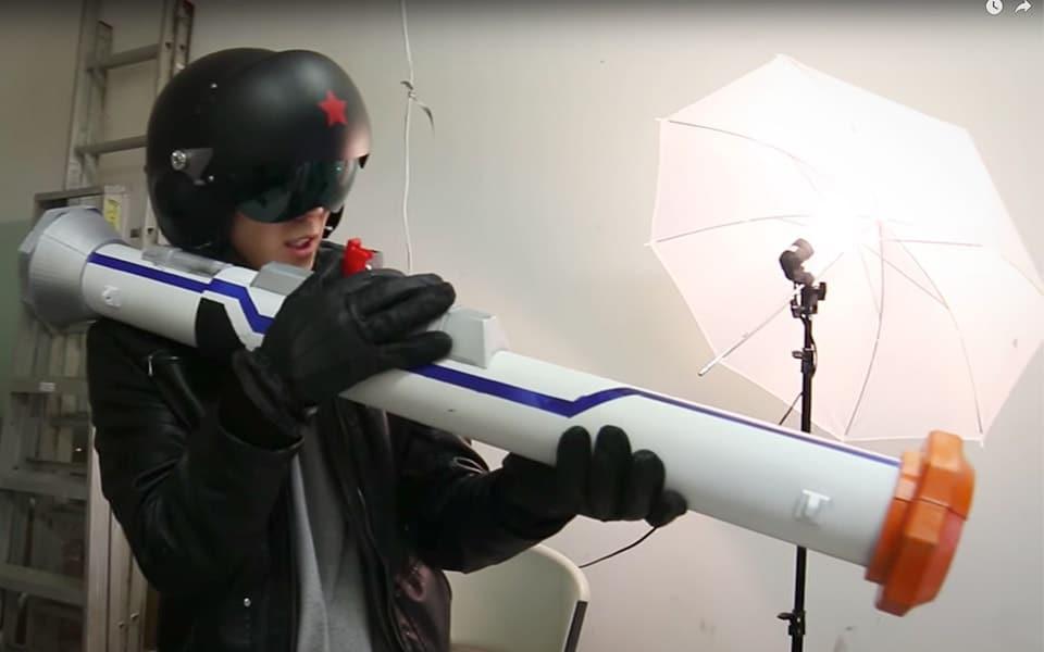 Den her NERF-bazooka er måske lidt for voldsom