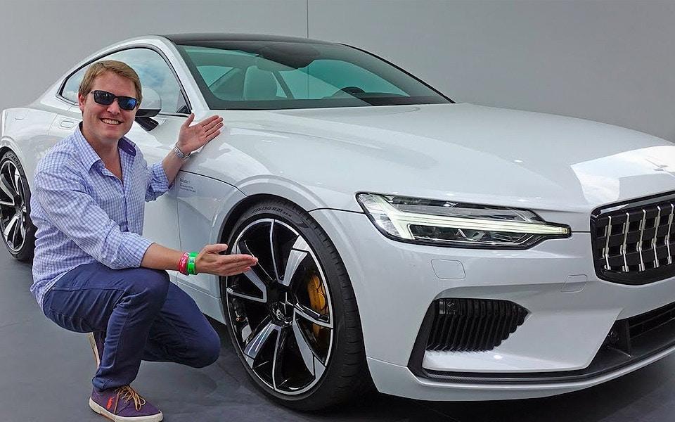 Verdenskendt YouTuber straffer Volvos nye Polestar 1