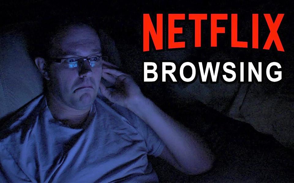 Browsing Netflix viser, hvor frustrerende det er at lede efter guf på Netflix