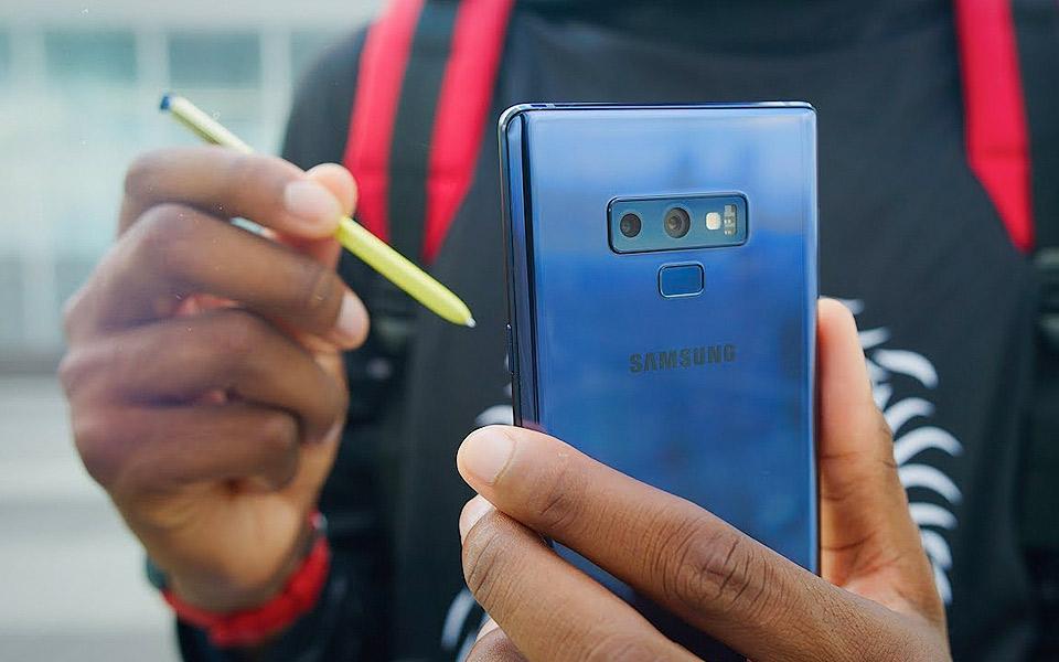 MKHBD tester Samsung Galaxy Note 9 - og han er begejstret