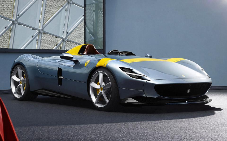 Ferrari har lige afsløret Monza SP1 og SP2