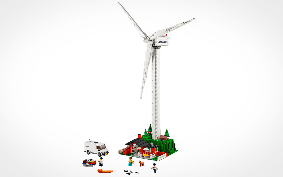 LEGO Vestas Vindmølle