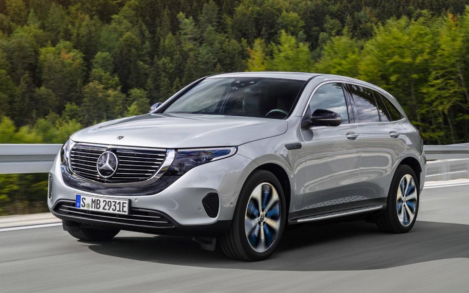 Mercedes-Benz EQC er tyskernes første 100% elektriske bil