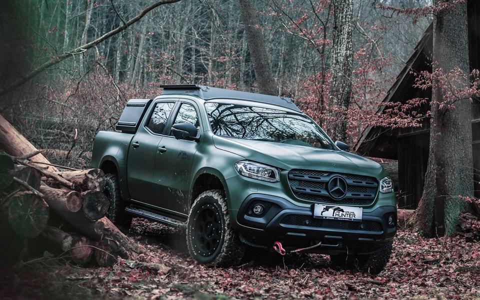 Gruma Hunter er en Mercedes X-Klasse til jægere