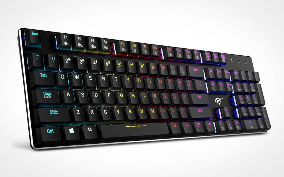 Havit Mekanisk Tastatur med RGB Kabling
