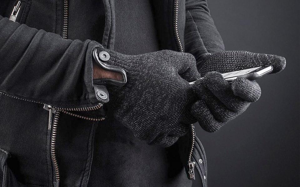 Mujjo dobbeltlags touchskærm handsker