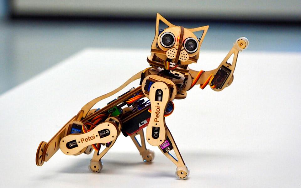Nybble er robotkatten, du selv kan bygge