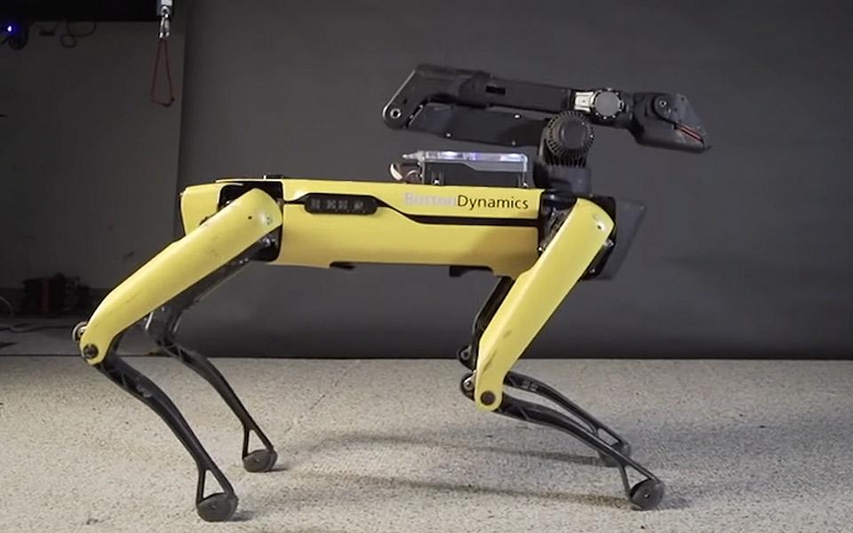 Se Boston Dynamics Spot levere vilde dansetrin