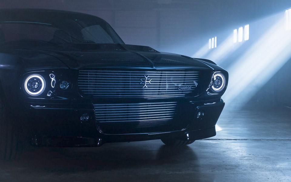 En Charge Ford Mustang kører på 100% el