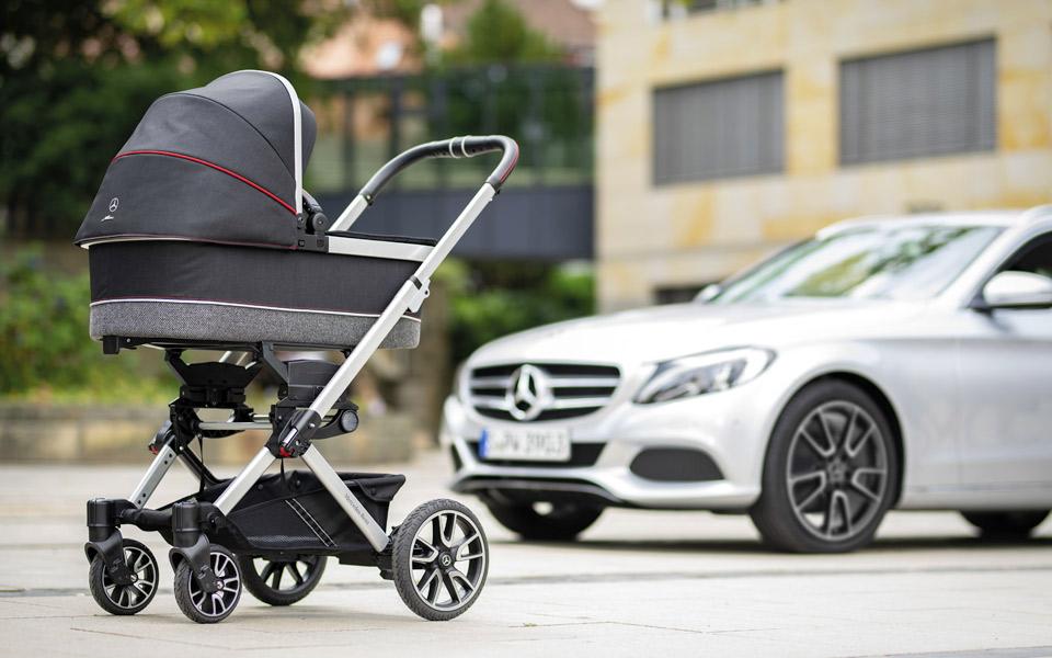 Mercedes har lavet en barnevogn