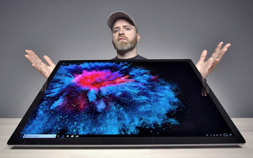 Microsoft Surface Studio 2 er kæmpe stor