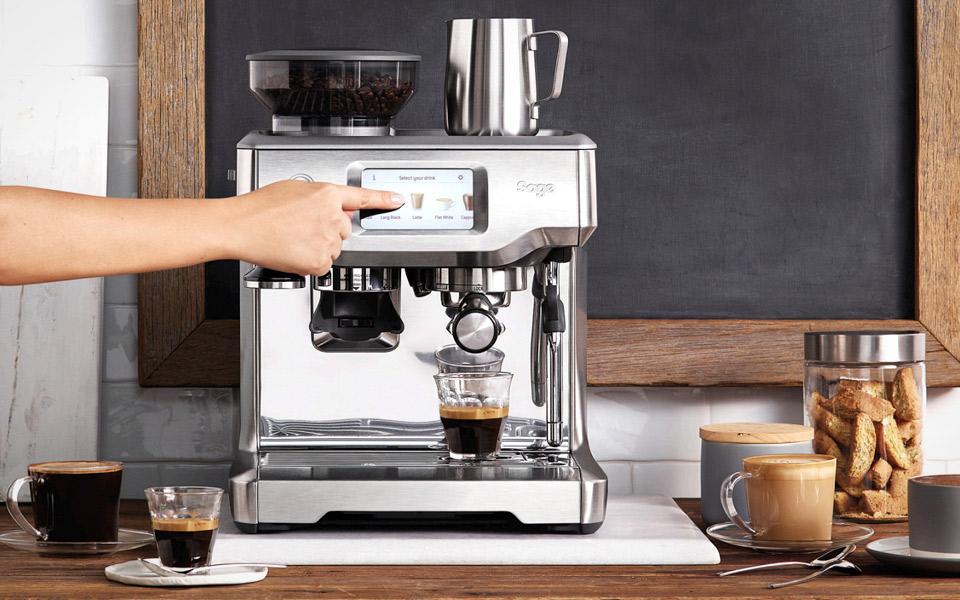 Med Barista Touch brygger du kaffe derhjemme som en ægte Barista
