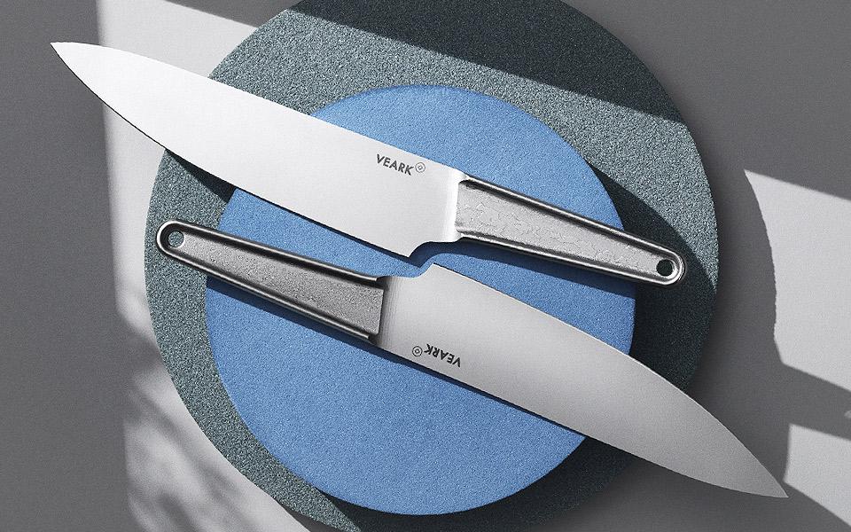 VEARK CK01 er en blæret dansk kokkekniv