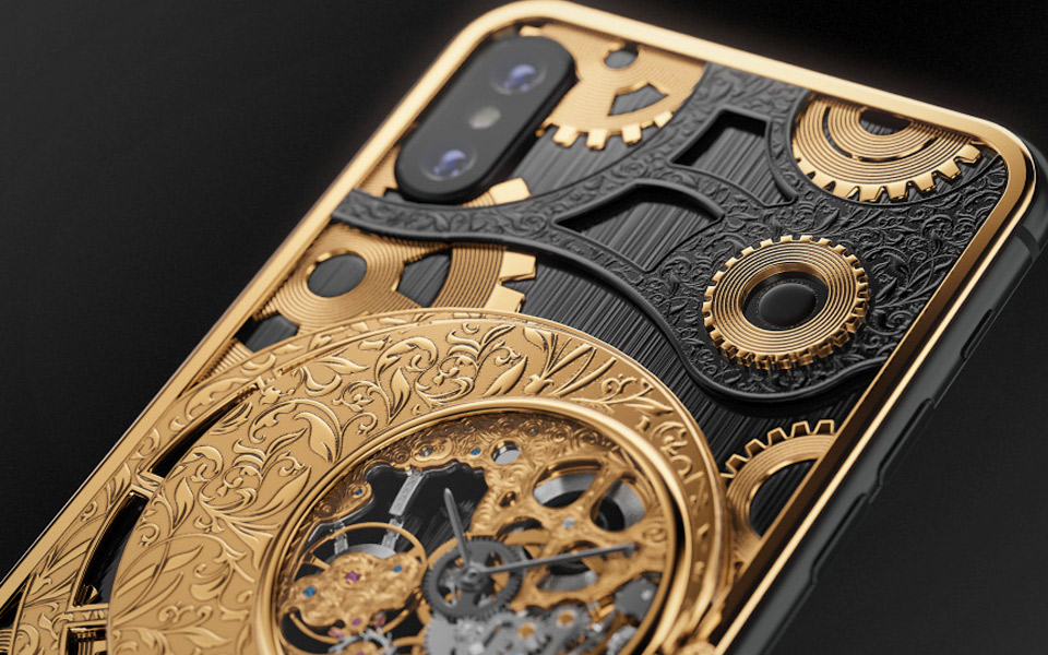Caviar Grand Complications Skeleton iPhone XS
