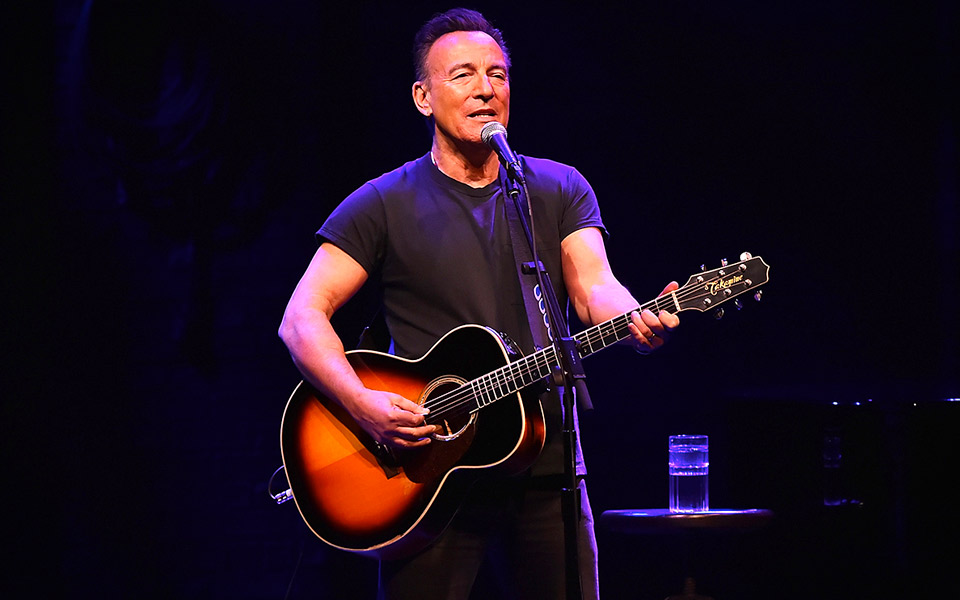 Springsteen on Broadway rocker Julen på Netflix