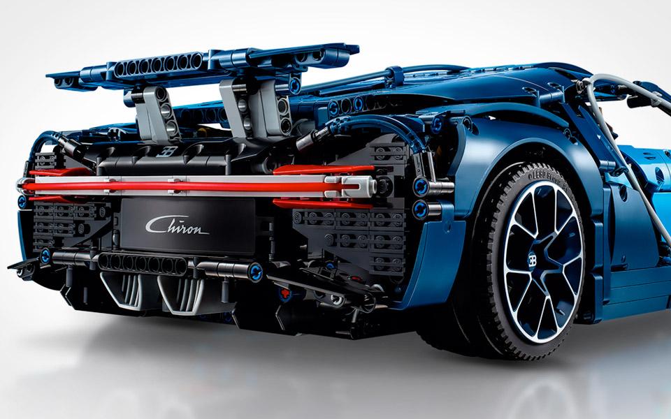 Kan en Bugatti Chiron af LEGO køre lige så hurtigt som originalen?