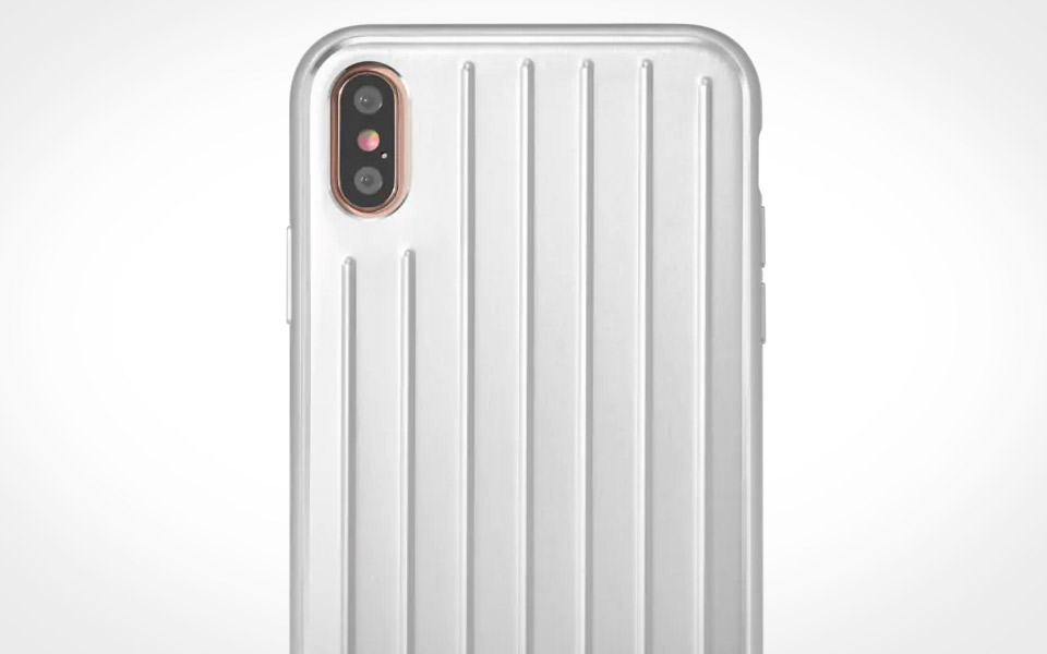 Rimowa Aluminium Groove Case for iPhone