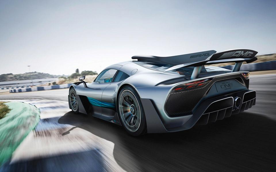 Top Gear kigger nærmere på den nye Mercedes-AMG One Hypercar