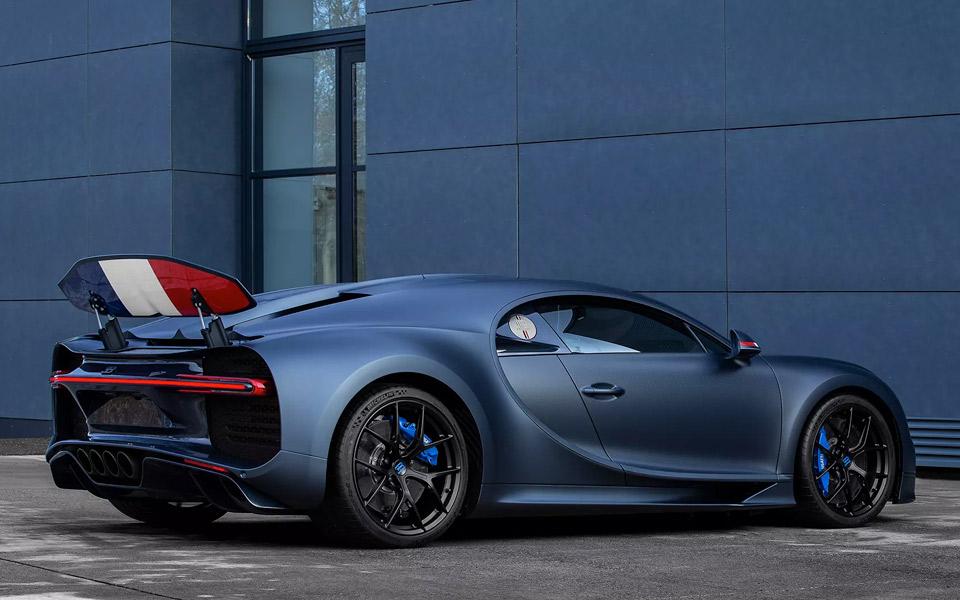 Bugatti fejrer sine franske rødder med specialversionen Chiron Sport 110 ans Bugatti