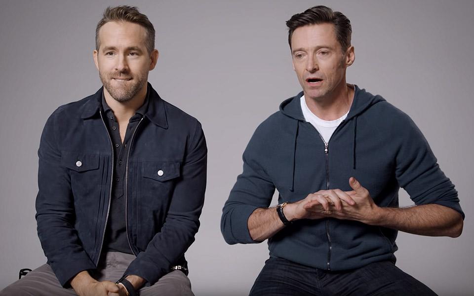 Ryan Reynolds og Hugh Jackman indgår våbenhvile, men det ender helt galt