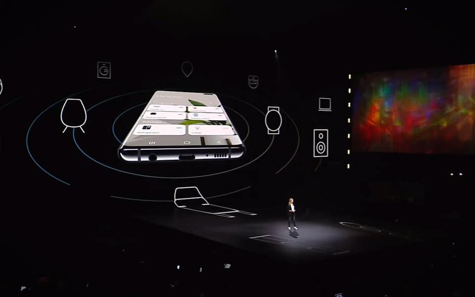 Samsung Galaxy S10 med et godt tilbud