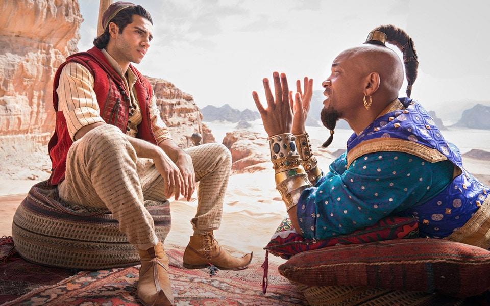 Første ordentlige trailer til Aladdin er fyldt med magi