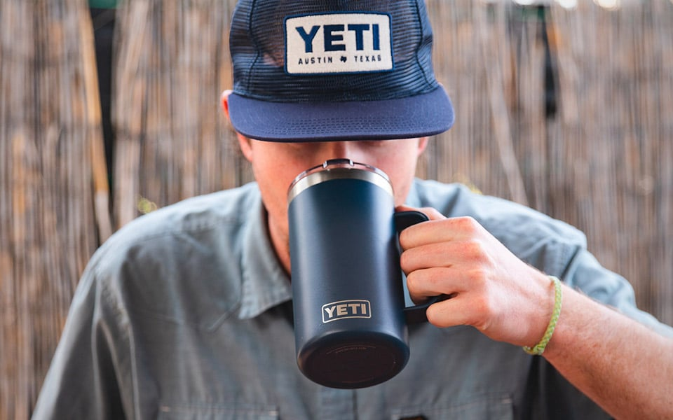 YETI's nye rejsekrus tager imod 700 ml. kaffe