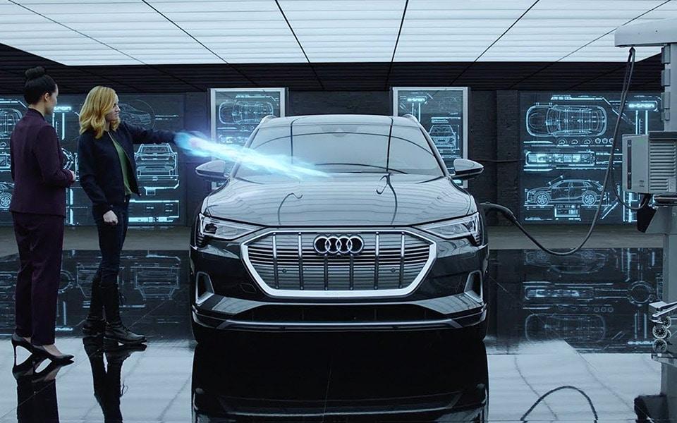Captain Marvel bliver opdateret i Audis nye reklamefilm