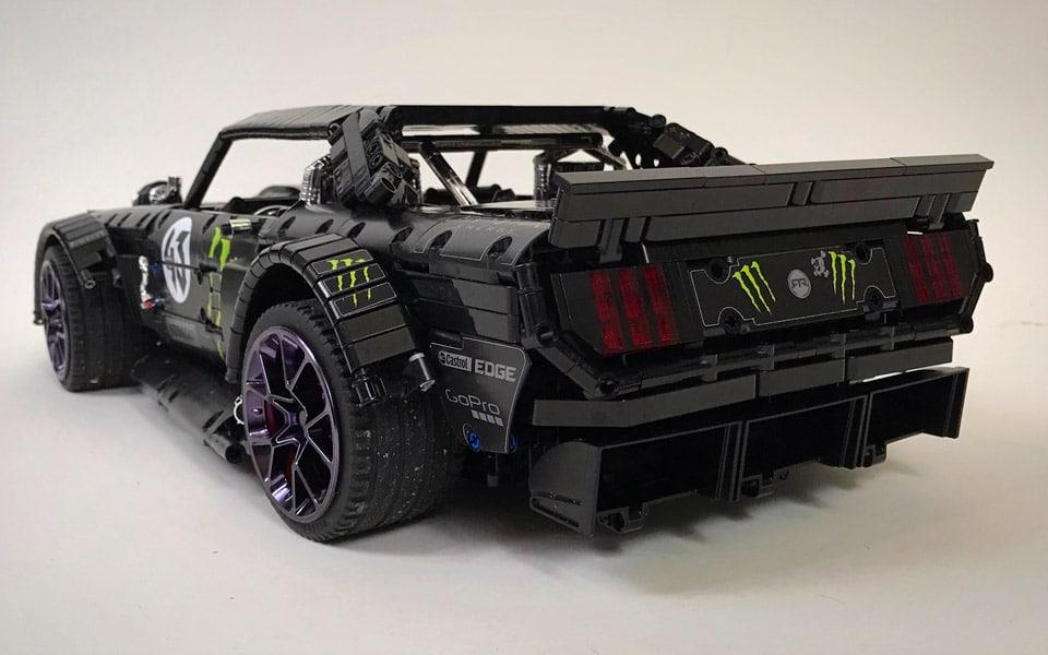 Ford Mustang Hoonicorn LEGO
