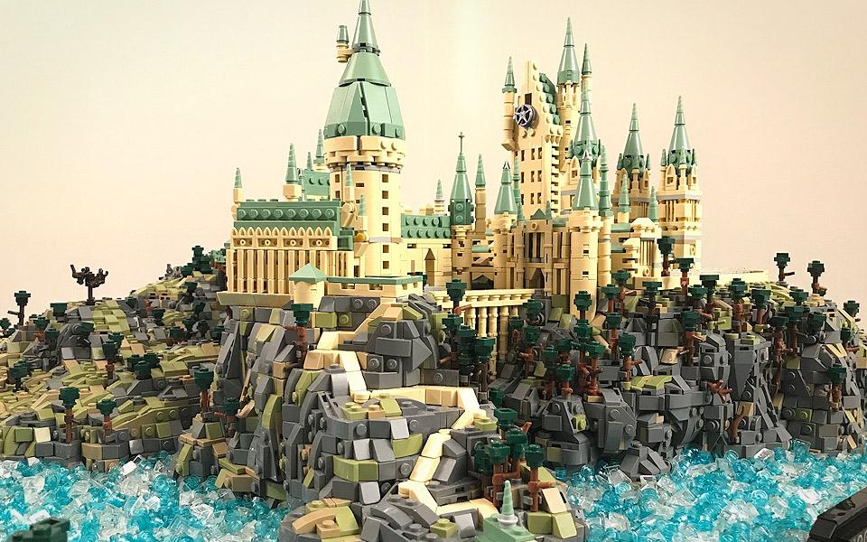 Harry Potters Hogwarts af 75.000 LEGO-klodser er ren magi