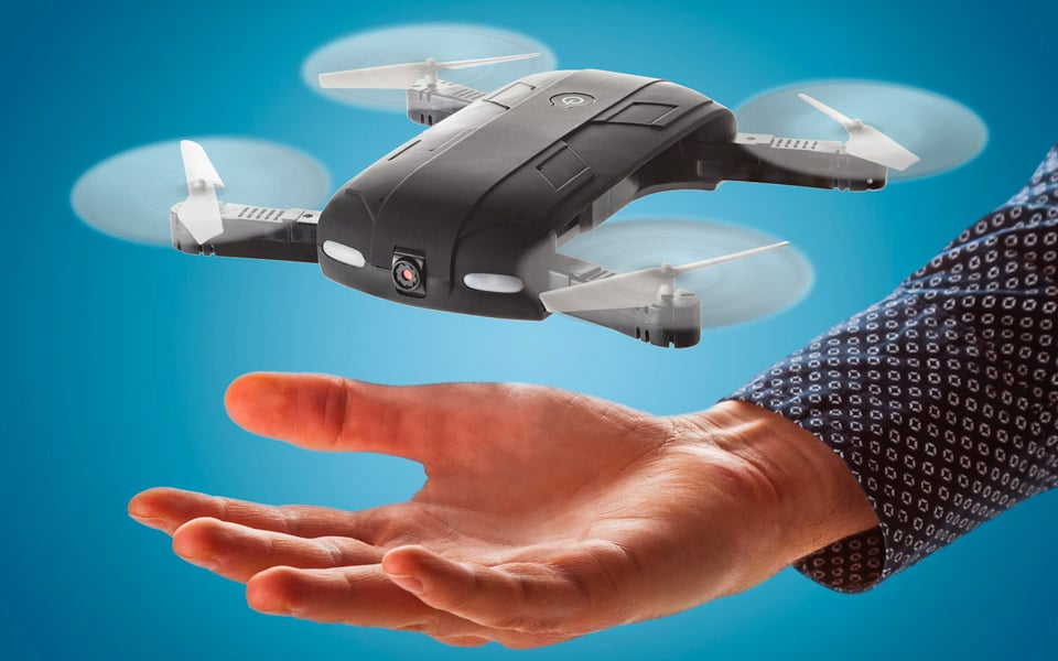Pocket Drone Sammenfoldelig FPV-Drone