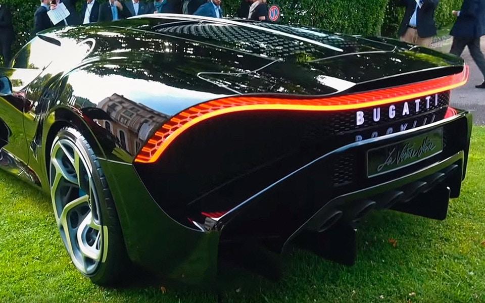 Bugatti har taget verdens dyreste bil med til årets Villa D'Este