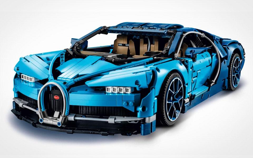 LEGO's Bugatti Chiron af 3.599 dele er ren blær