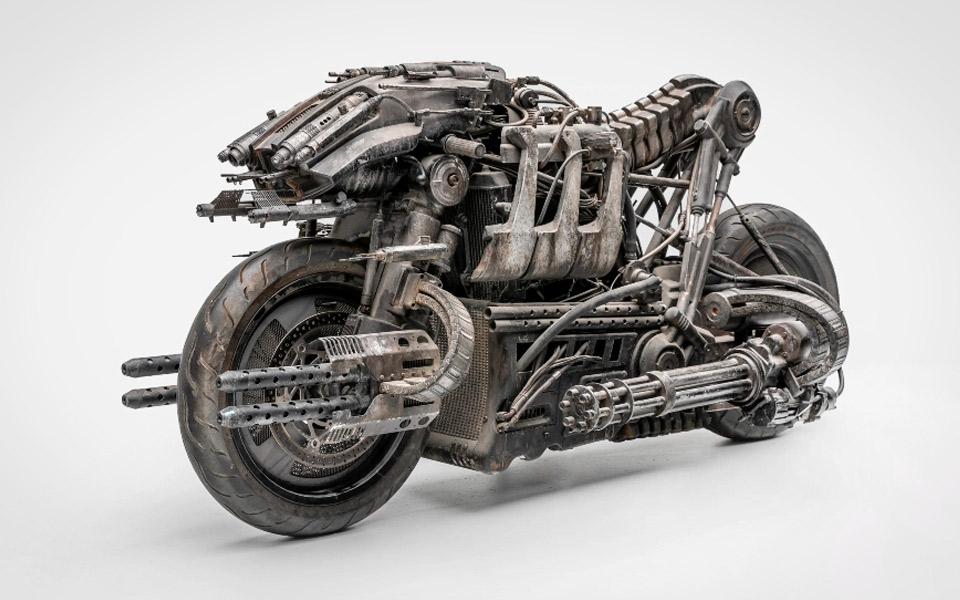 Ducati Skynet Moto-Terminator
