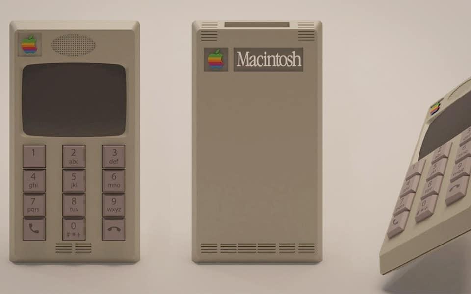 Sjov reklame viser, hvordan iPhone ville se ud, hvis den blev lanceret i 80'erne