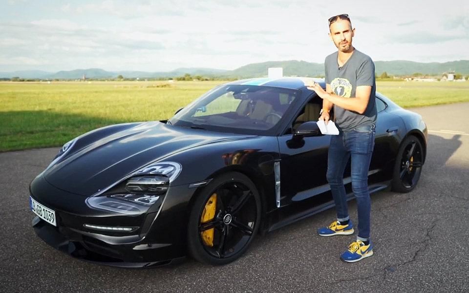 Her er testen af Porsche Taycan