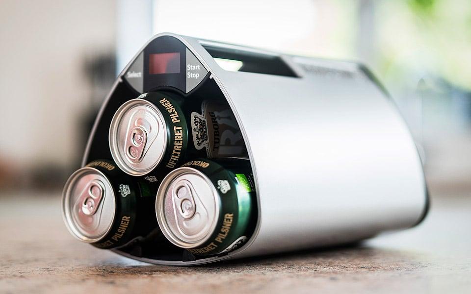 To danske Vestjyder har opfundet den ultimative køler til dine drikkevarer