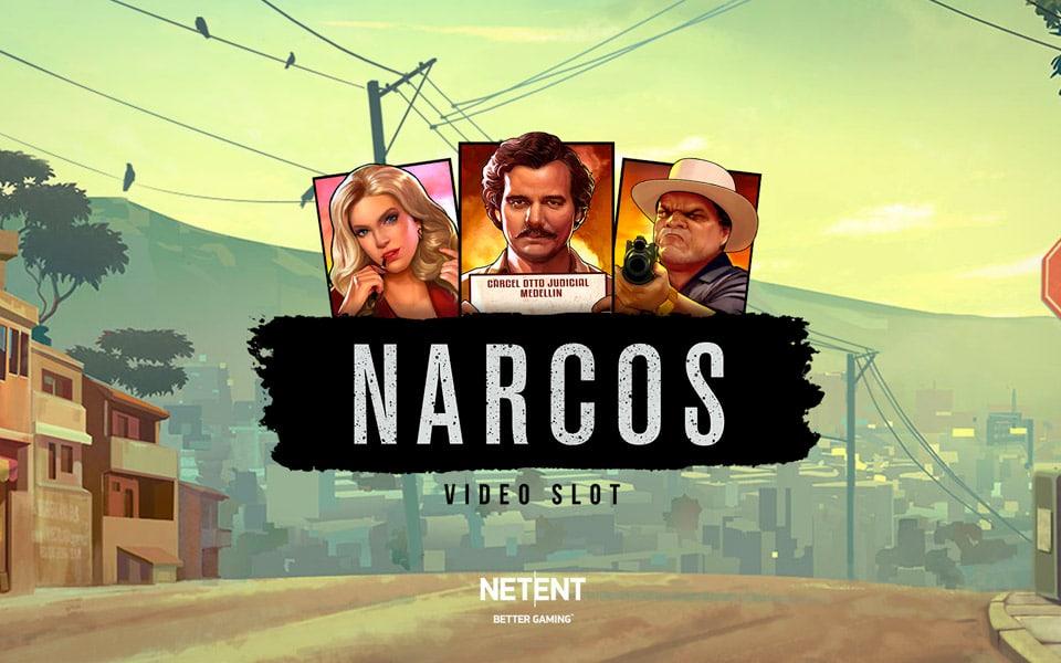 TV-serien Narcos fås nu som online spillemaskine