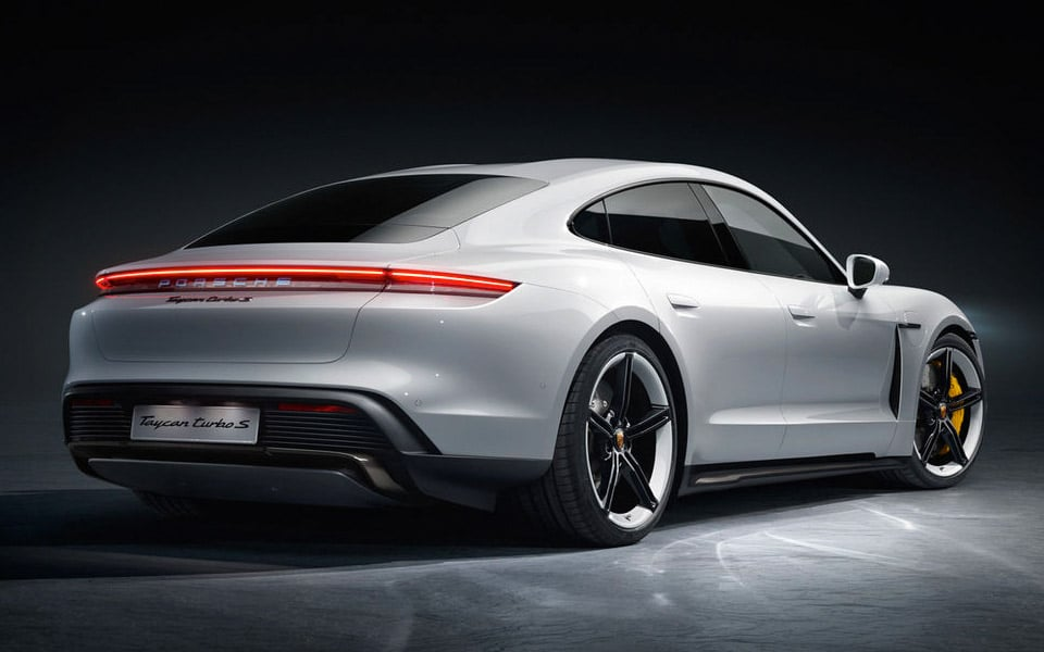 Her er den helt nye Porsche Taycan