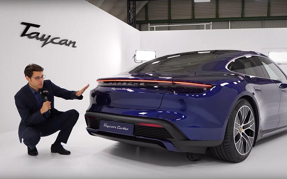 Kom tættere på den nye Porsche Taycan