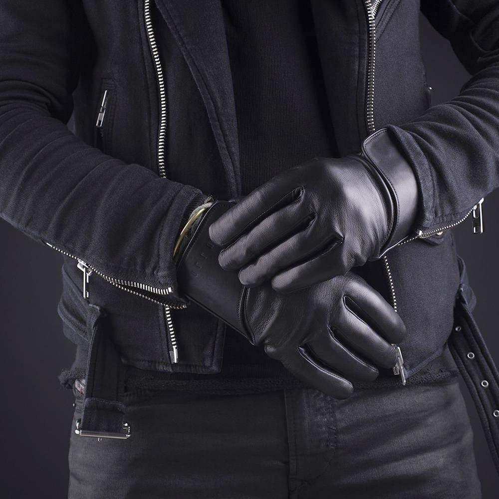 Mujjo Læder Touchscreen Handsker