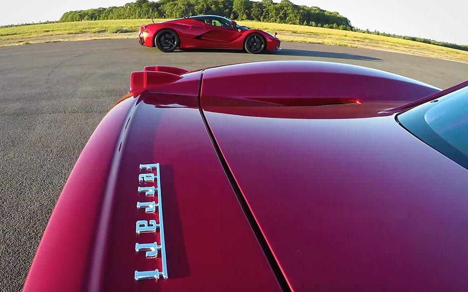 Hvilken Ferrari er hurtigst? Enzo eller LaFerrari?