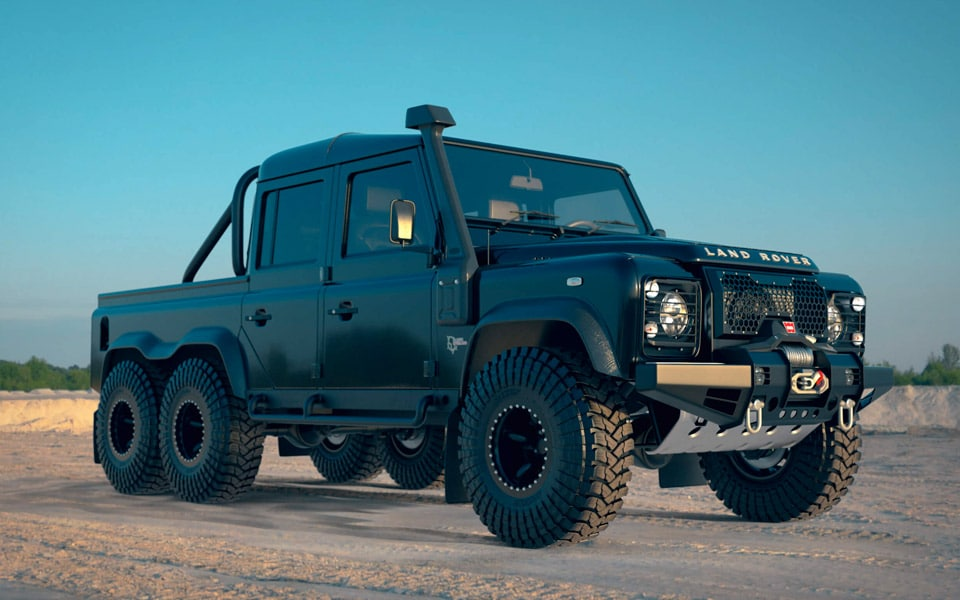 Land Rover Project Mamba