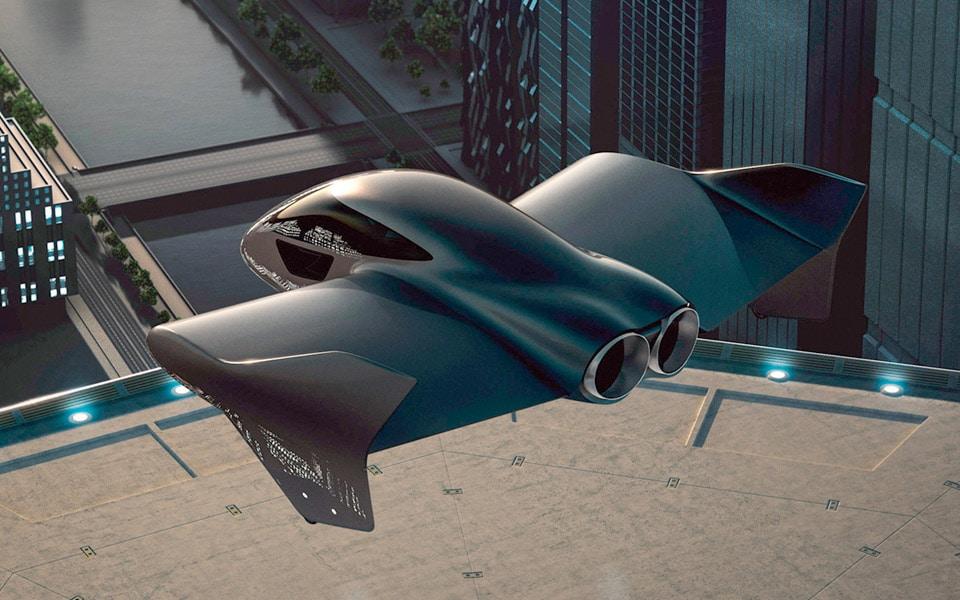 Porsche og Boeing samarbejder om flyvende bil